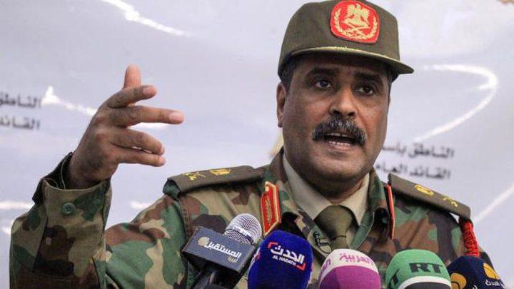 الجيش الليبي بقيادة حفتر يتهم تركيا بتهريب السلاح الى ليبيا