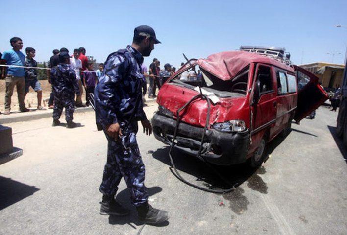 غزة: إصابتان في ثلاثة حوادث سير خلال 24 ساعة