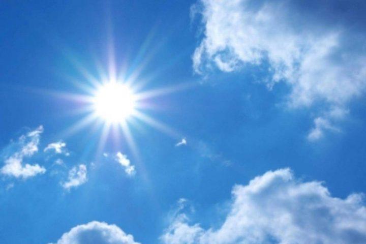 الطقس: الحرارة أعلى من معدلها السنوي العام بـ 6 درجات مئوية