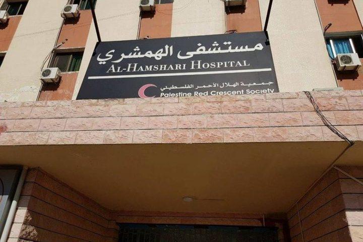 شؤون اللاجئين تدعم مستشفى الهمشري بلبنان بأجهزة وشرائح فحص كورونا