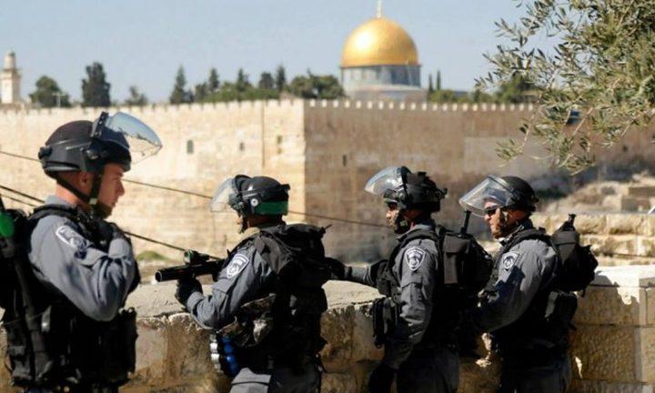 في يوم عرفة...اقتحامات واعتقالات وإبعاد عن المسجد الأقصى
