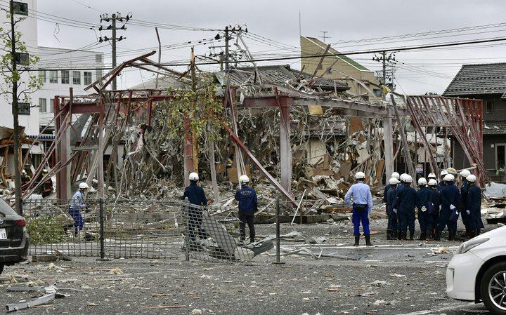 قتلى وإصابات في انفجار مطعم باليابان