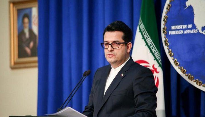 """رسالة من ايران بشأن شعارها في الشرق الأوسط و""""خيانة فلسطين"""""""