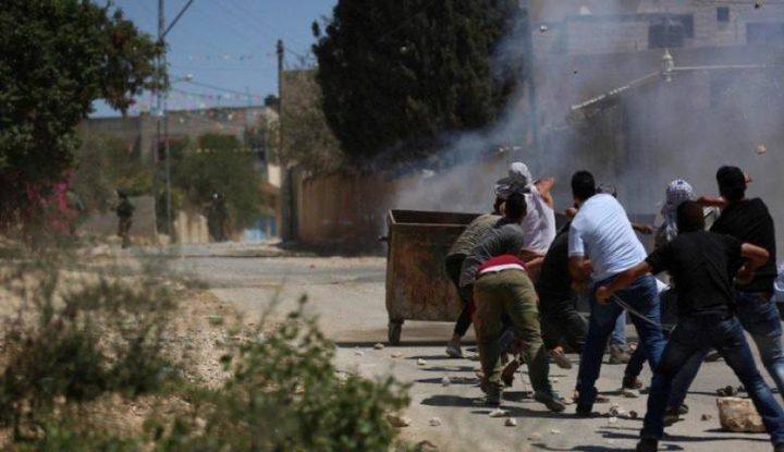 إصابة 7 مواطنين برصاص الاحتلال خلال مسيرة كفر قدوم