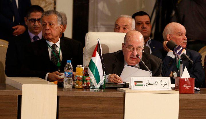 """""""المجلس الوطني"""" يدعوالعالم لإعلان تضامنهمع محافظ القدس"""