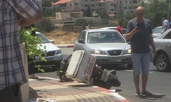 4 اصابات في حادث طرق قرب حيفا
