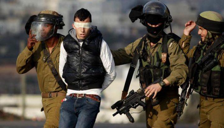 قوات الاحتلال تعتقل مواطنا من مدينة نابلس