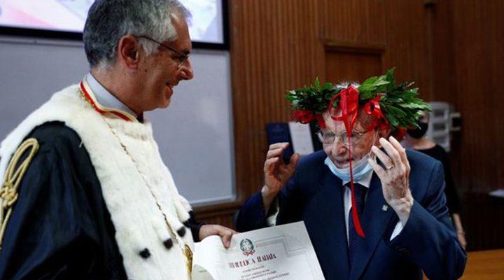 إيطاليا.. تخرج الطالب الأكبر سنا في تاريخ البلاد