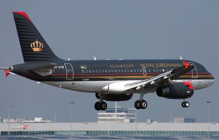 طيران الملكية الأردنية يسير رحلات إلى خمس دول