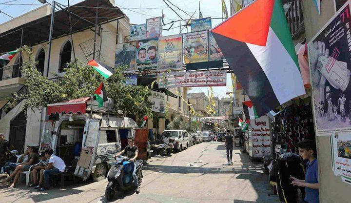 فصائل المنظمة في لبنان تدين التحريض الأميركي الاسرائيلي ضد الرئيس