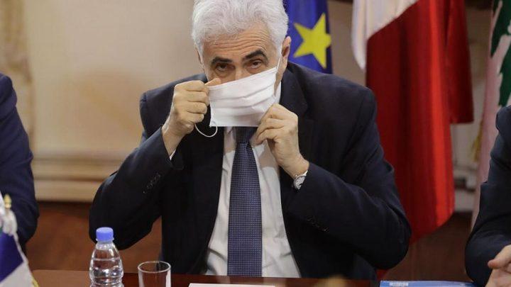 وزير الخارجية اللبناني يقدم استقالته للحكومة