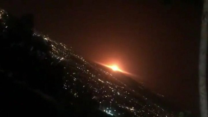 مقتل شخص وإصابة 13 آخرين بانفجار أحد خزانات شمال إيران