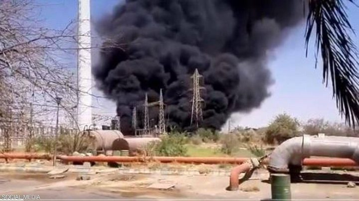حريق ضخم في ايران يستهدف مدينة صناعية ومركبا تجاريا