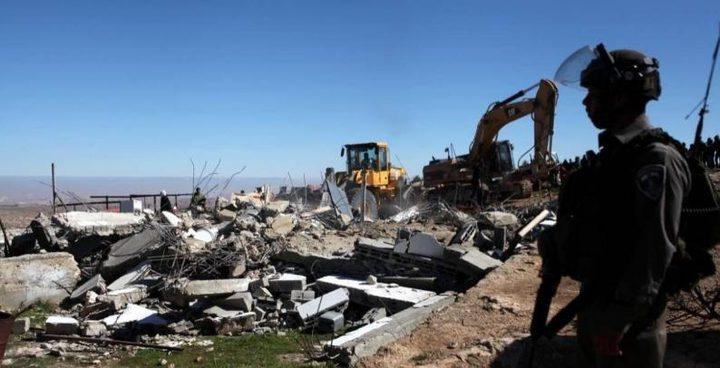 الأمم المتحدة: الاحتلال هدم أو صادر 30 مبنى خلال اسبوعين