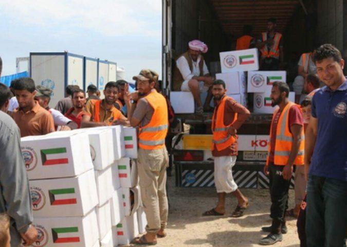 الكويت تقدم 5 آلاف حصة غذائية للفلسطينيين في لبنان