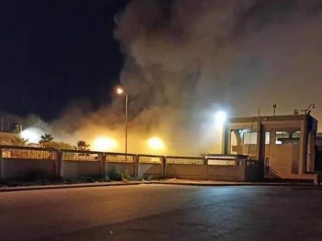 ليبيا: حريق ضخم في مطار مصراته الدولي