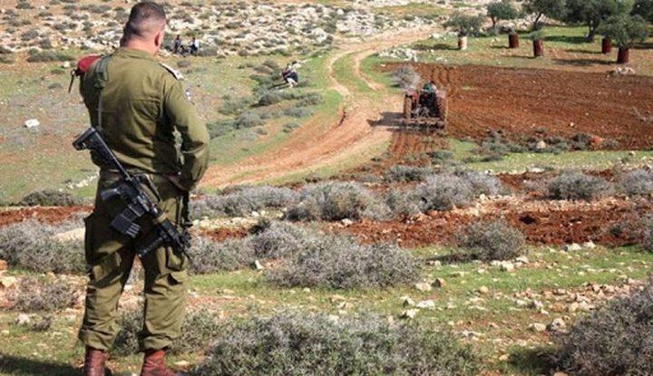 الاحتلال يقرر الاستيلاء على 327 دونما شرق بيت لحم