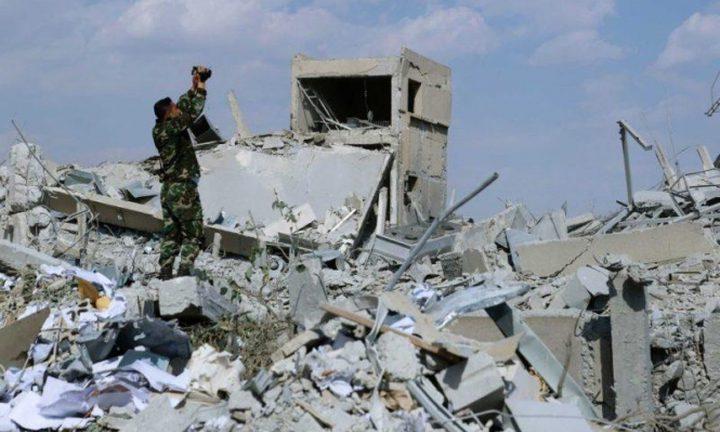 مقتل 15 شخصا في غارات جوية على مواقع إيرانية بريف البوكمال