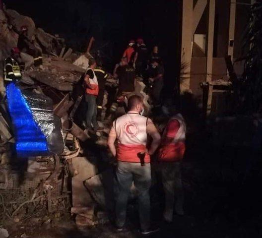 الهلال الأحمر الفلسطيني يشارك في إسعاف مصابي انفجار بيروت