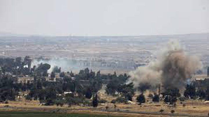 قصف إسرائيلي يستهدف القنيطرة جنوب غرب سوريا