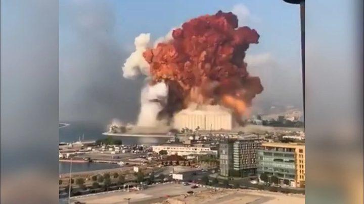 دولة الإحتلال: لا علاقة لنا بانفجار بيروت