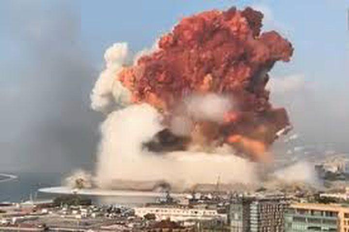 دبيك: سلسلة تفجيرات بيروت كانت بقوة زلزال 4 درجات على مقياس ريختر