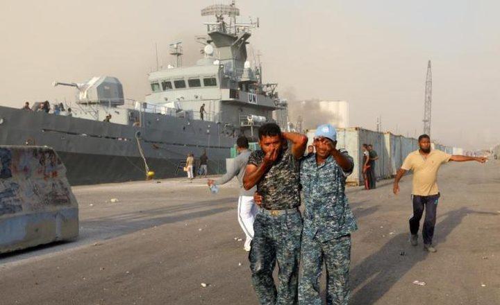 """اصابة عدد من أفراد قوات """"يونيفيل"""" خلال انفجار بيروت"""