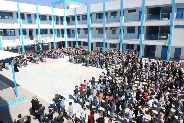 """مدارس """"الأونروا"""" في الضفة تبدأ استعداداتها لبدء العام الدراسي"""