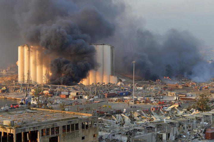 100 قتيل و (4) آلاف إصابة في إنفجار  بيروت