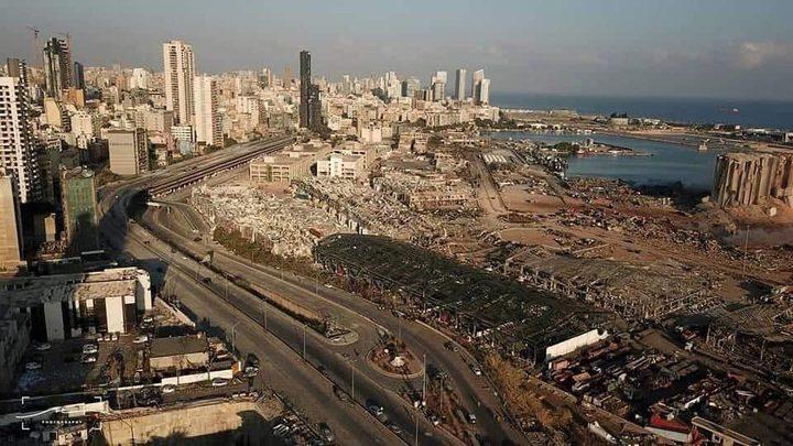 كيف بدت العاصمة اللبنانية عقب إنفجار المرفأ؟