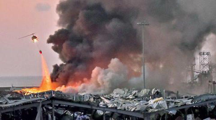 إصابة 5 أشخاص في سفارة هولندا بانفجار مرفأ بيروت