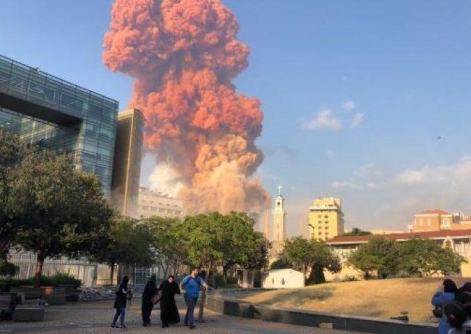 مخرجة روسية موجودة في لبنان تتحدث عن لحظة الانفجار في بيروت