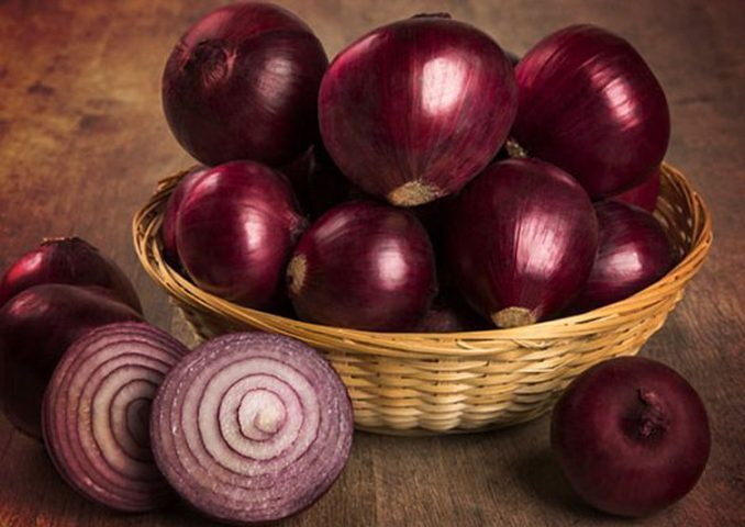 تحذير.. البصل الأحمر قد يسبب الإصابة بالسالمونيلا