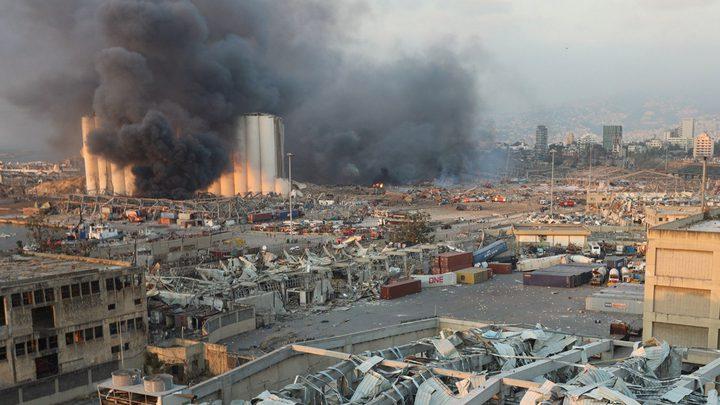 لبنان: 135 قتيلاً ونحو 5000 جريح وعشرات المفقودين بانفجار بيروت