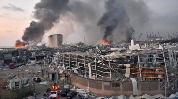 15 مليار خسائر انفجار بيروت
