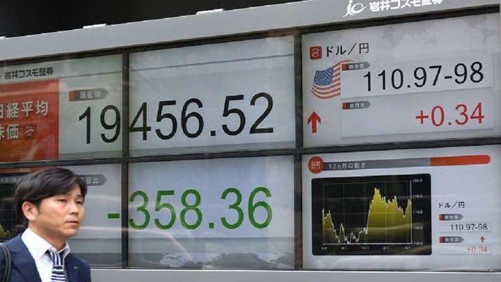"""انخفاض مؤشر """"نيكي"""" في اليابان في بداية التعاملات"""