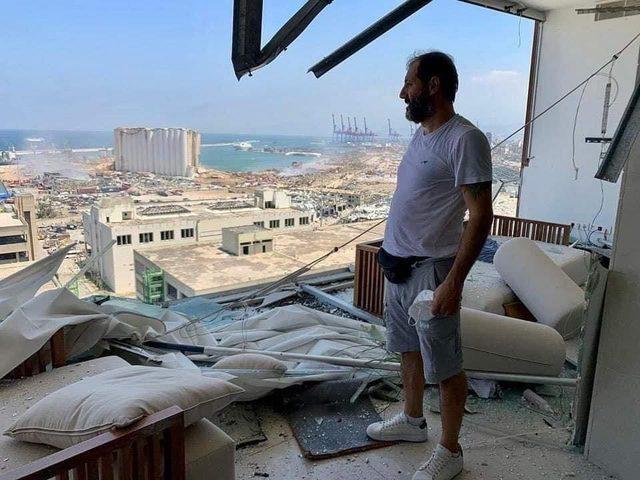 تحطم منزل الفنان عادل كرم