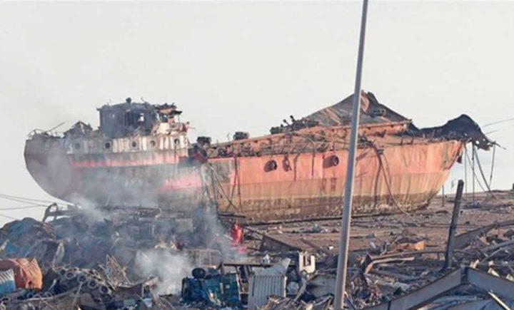 السفينة المحملة بنترات الامونيوم رست ببيروت بدلا من موزمبيق