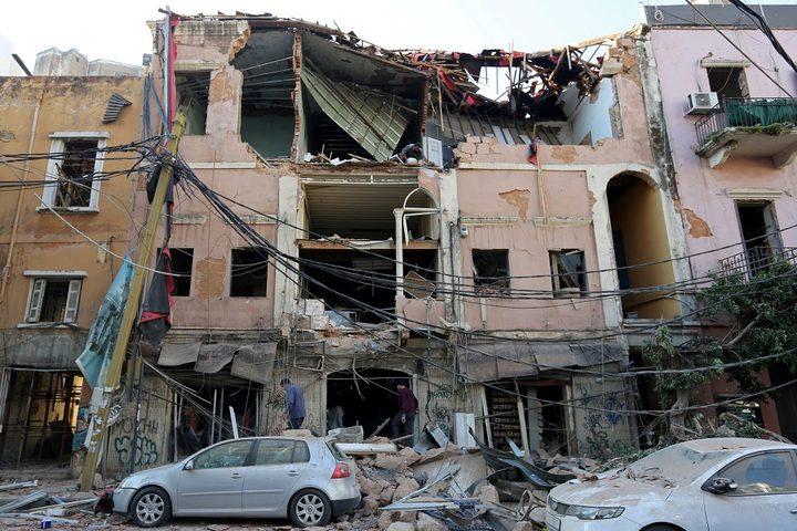 مصرع فرنسي وإصابة 24 آخرين بانفجار بيروت