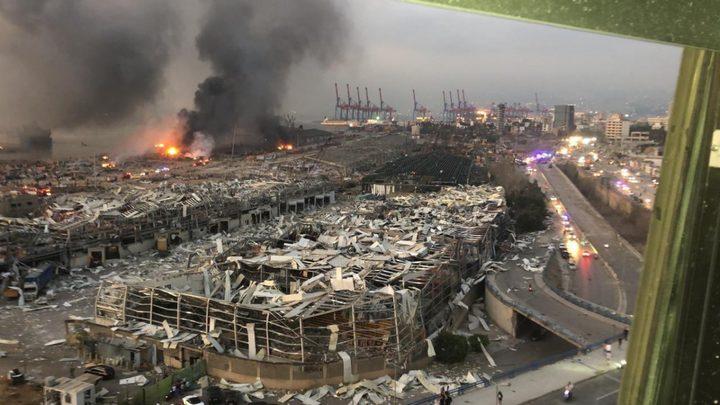 البنك الدولي يعلن استعداده للتعاون في اعمار ما خلفه انفجار بيروت