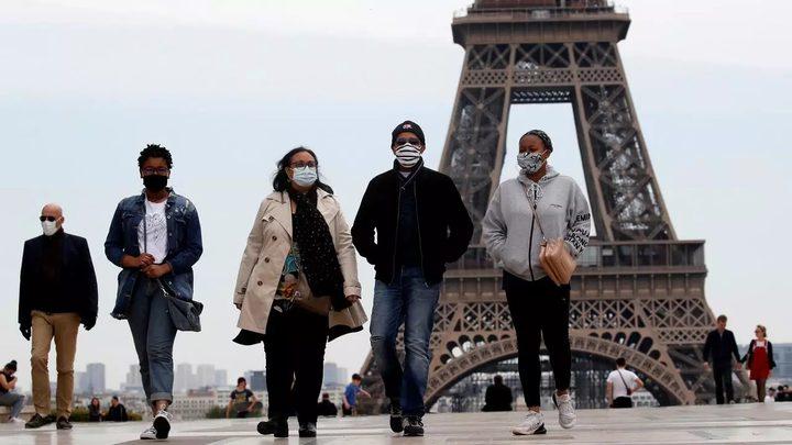 أكثر من 1600 إصابة جديدة بكورونا في فرنسا