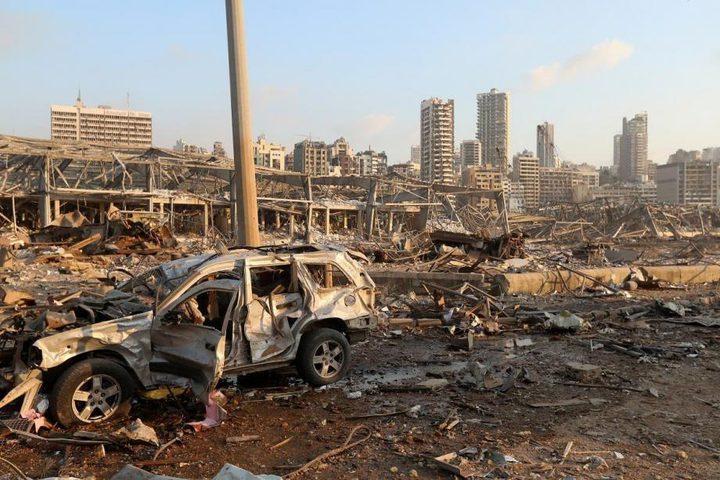 إرتفاع حصيلة ضحايا إنفجار لبنان لـ 137ونحو 5 آلاف جريح