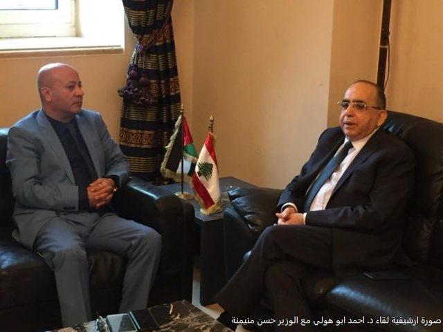 ابو هولي: اللاجئون واللجان الشعبية تقف الى جانب الشعب اللبناني