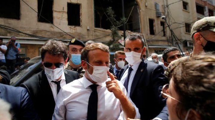 """ماكرون: مساعدات لبنان لن تذهب إلى """"الأيدي الفاسدة"""""""