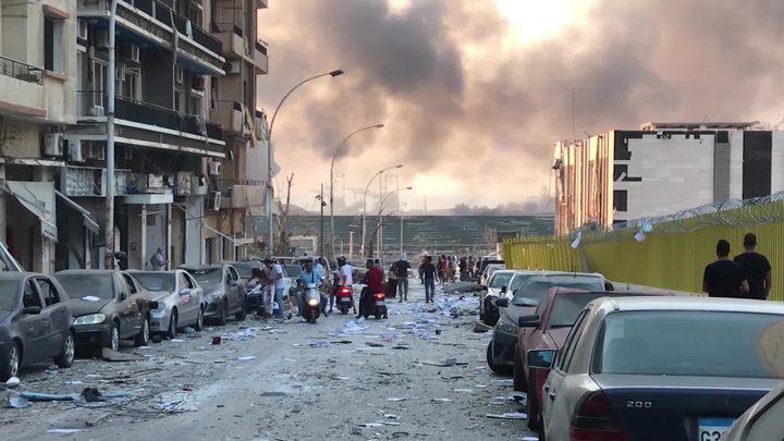 ارتفاع عدد ضحايا إنفجار مرفأ بيروت إلى 154