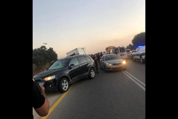 مصرع مواطن من عرعرة وإصابتان خطيرتان في حادث طرق