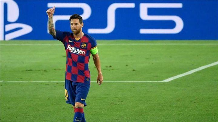 كيف علق ميسي بعد تأهل برشلونة إلى ربع نهائي دوري الأبطال؟