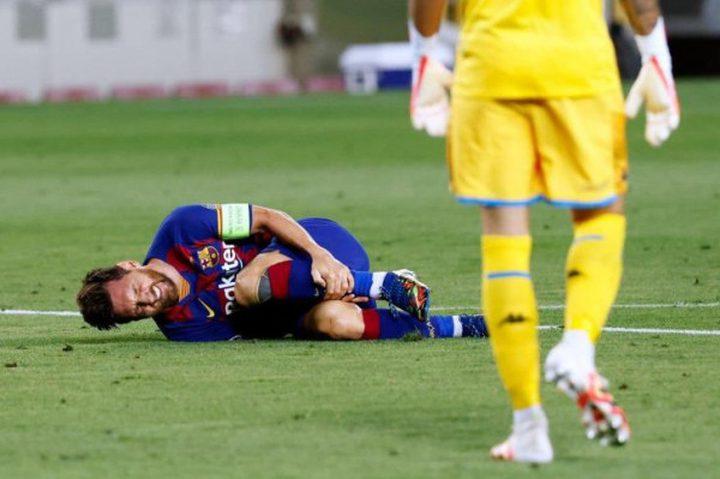 ميسي يثير ذعر برشلونة قبل لقاء بايرن ميونخ