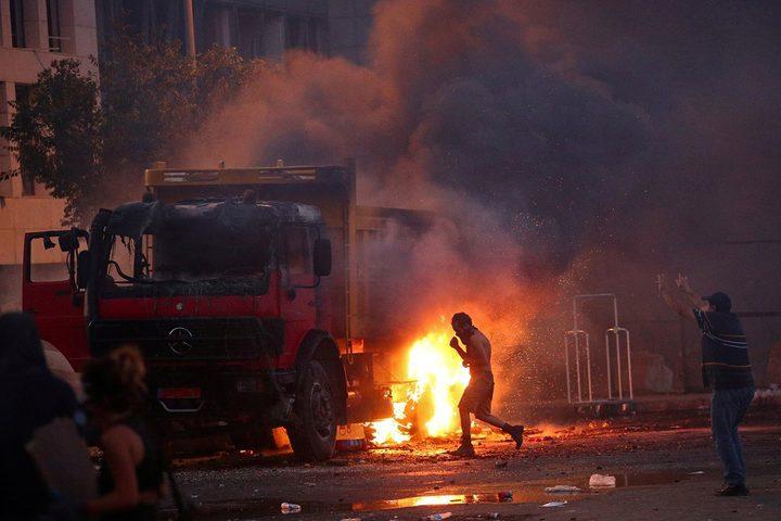 مقتل جندي وإصابة أكثر من 70 آخرين خلال مظاهرات في بيروت