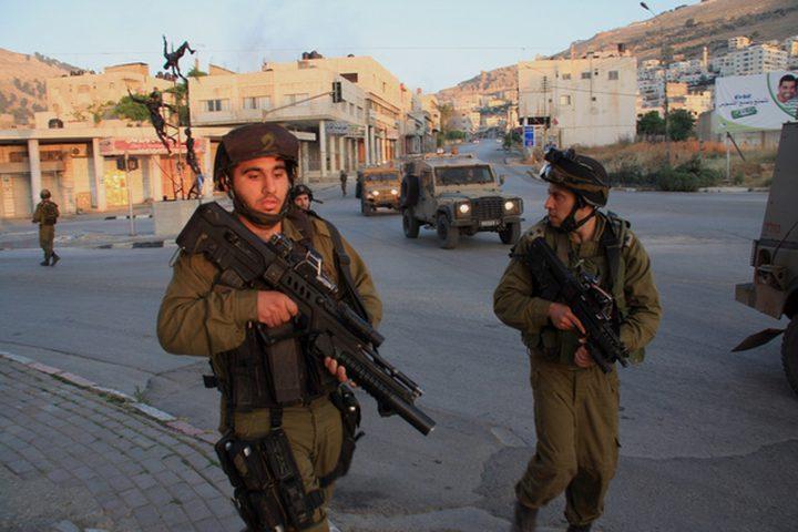 طوباس: الاحتلال يقتحم سهل البقيعة وقرية عاطوف والرأس الاحمر